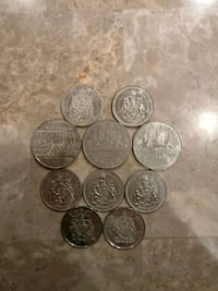 Assorted Canadian Nickel Dollars and Halves Toronto, M6A 1N8