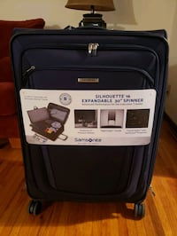 "Samsonite Luggage Silhouette 16""  expandable to 30"" Bloomington"
