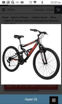 26 inch hyper shocker MTB Ellicott City