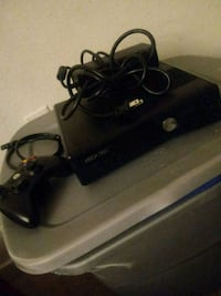 black Xbox 360 with two controllers Richmond, 23226