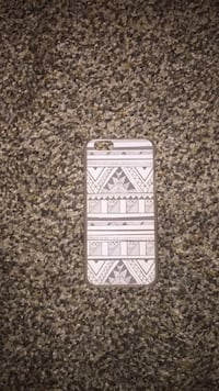 white and black iPhone case Manning, 29102