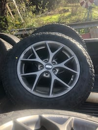 """100% NEW Toyo Open country A/T2 tires and USED 17"""" bbs rims Newcastle, 95658"""