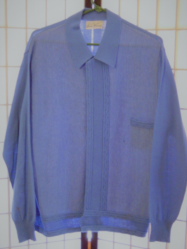 DINO PISANI MADE IN ITALY VINTAGE MENS BUTTON DOWN SWEATER