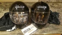 2 black hjc full face helmets Stafford, 22554