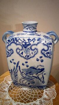 Decorative Porcelain with fish designed 35 km