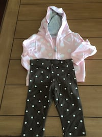 New Set of leggings and sweater for girls 24 Months  Los Angeles, 91325