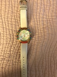 Betsey Johnson Collection - Unique Multi color ivory face watch Reston, 20191