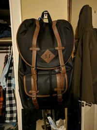 black and brown leather backpack Little Rock, 72202