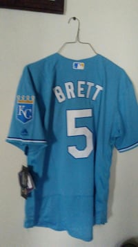 Kansas City Royals Brett 5 jersey