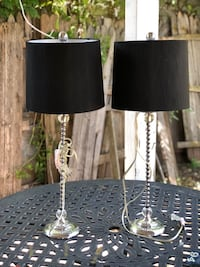 Knight stand lamps
