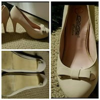 pair of beige pumps collage Bixby, 74008