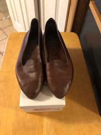 Brown Leather Aerosole Size 9B, women's shoes