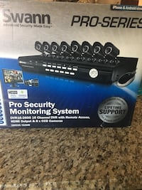 Swann security monitoring system there is no cameras with it . It's new monitor never used  Downey, 90241