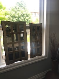 Wood Framed Mirrors. Large: $60  Small:$50 Vaughan, L6A 3E2
