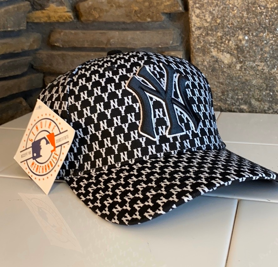 Photo NWT MLB NY Baseball Cap Hat Yankees Lid Adjustable BLACK NYY