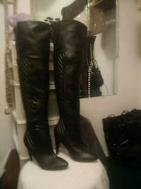 Tall Knee High Leather Boots Dayton, 45426