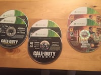 Lot of Xbox 360 games Laval, H7X 2N9