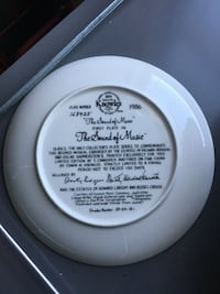 Knowles collection The Sound of Music plate Catonsville, 21228