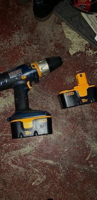 yellow and black cordless power drill Whiting, 46394