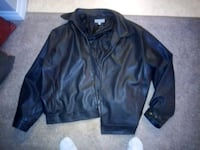 Mens XL light leather jacket Edmonton, T5M