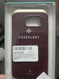 brown Caseology leather smartphone case box Rockford, 49341