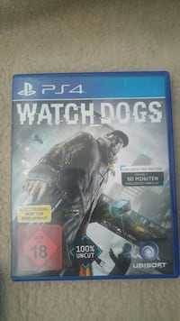 Watch Dogs PS4 Spieletui