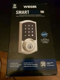 Weisser Smart Code 10 Electronic Lock Mississauga, L5A 3T2