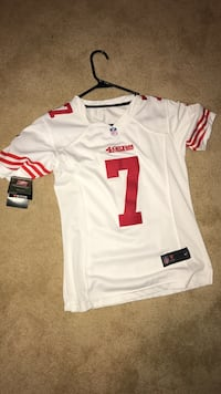 white and red 49ers 7 jersey shirt Carson City, 89705