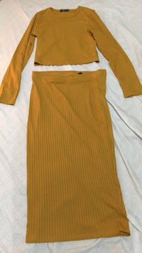 GET YOURSELF A 2-PIECE MUSTARD SKIRT AND TOP FOR ONLY $50!! Toronto, M1B 1B9
