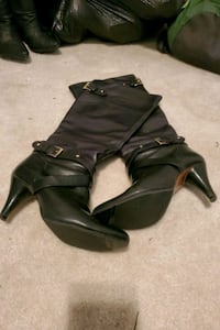 Steven by Steve Madden Leather boots size 8.5 Stephenson, 22656