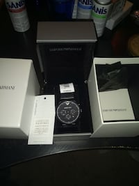 Emporio Armani watch with box. Never been used.  Germantown, 20874
