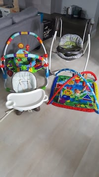 Bundle: Stroller/car seat/high chair/bouncer/play mat , T0G