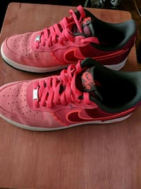 Red Limited Edition Nike Air Force One Adelphi, 20783