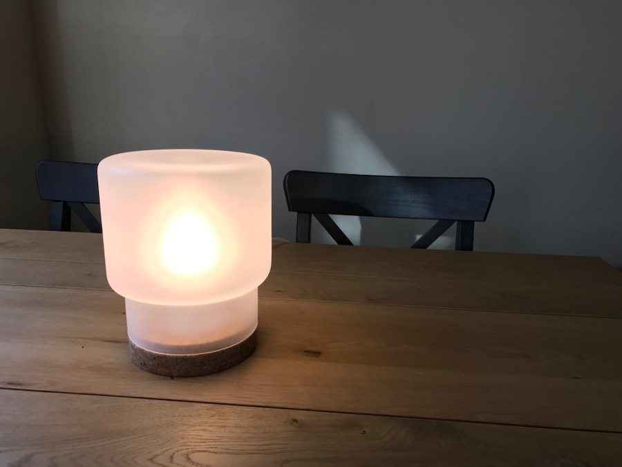 Ikea Sinnerlig Hanglamp : Used ikea table lamp need it gone by today for sale in seattle