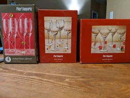 Wine, Champagne/Flute, Martini Glass Sets