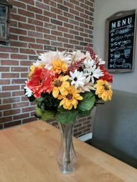 Fake fall bouquets