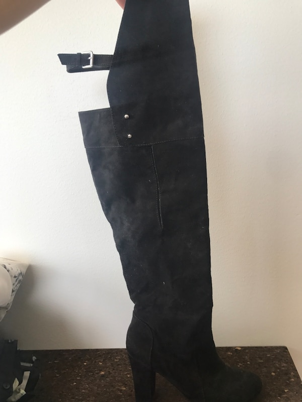 Used Overknee boots med 9cm klack for sale in Södertälje - letgo 738e0e2ffa4d5