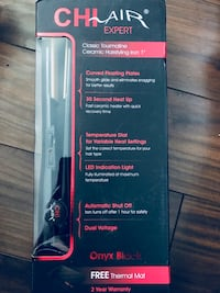 Chi Air ceramic hair straightener Ottawa, K1H