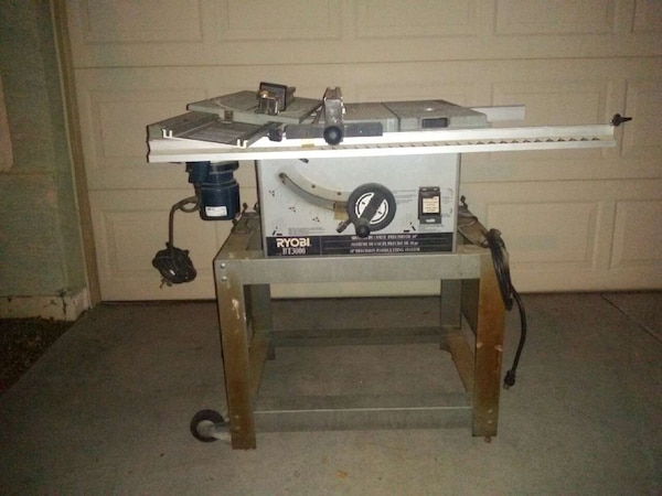 Ryobi Table Saw And Router Combo