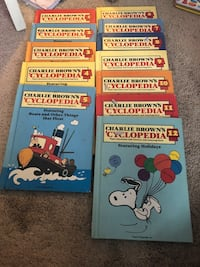 Charlie Brown kids 'cyclopedias
