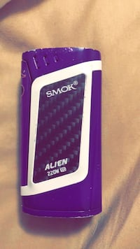 purple and white Smok Alien box mod Apple Valley, 55124