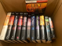 """""""Left Behind"""" book collection."""