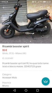 Ricambi booster
