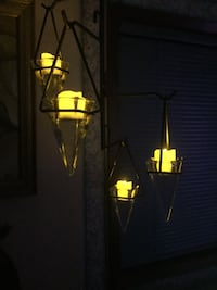 Hanging votive candle holders w wrought iron Walla Walla, 99362