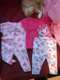 baby's three assorted clothes San Angelo, 76901