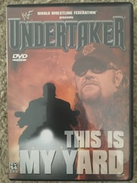 WWE Undertaker This Is My Yard DVD Calgary, T3M 0C6
