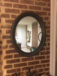 Mirror with brown frame from Target 41 km