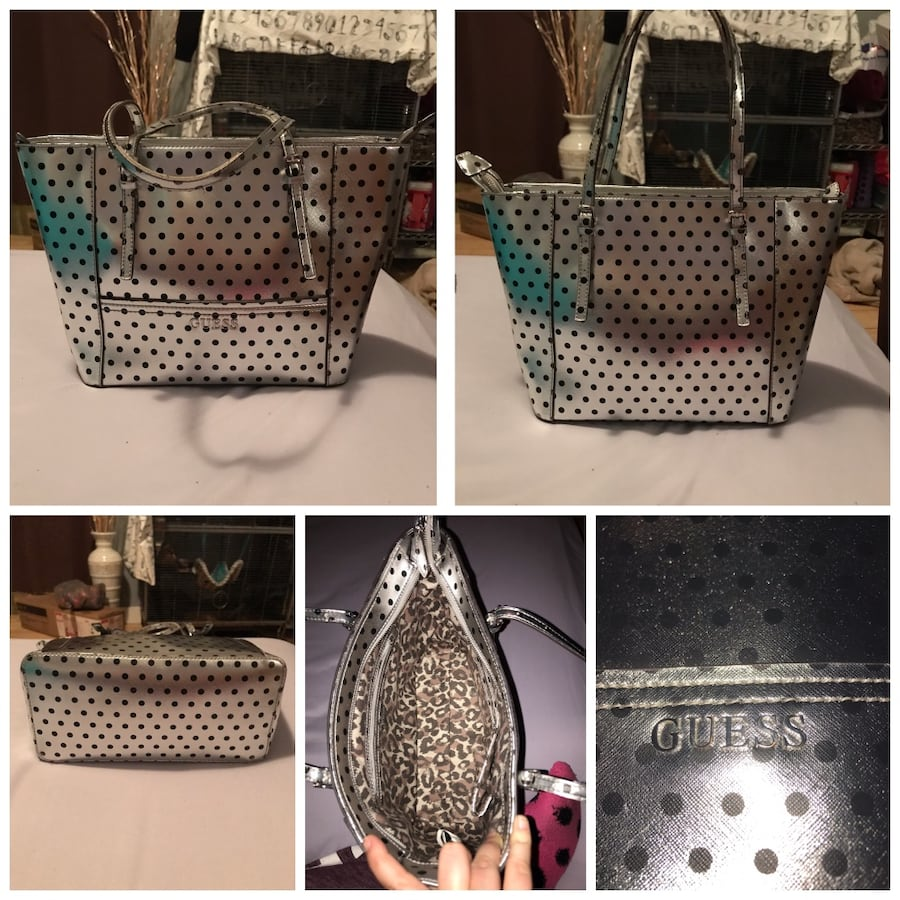 Guess tote/handbag/purse.
