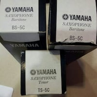 3 pcs Yamaha saxophone mouthpieces in boxes Woodstock, 22664