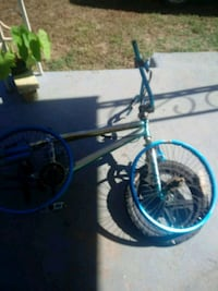 black and blue BMX bike Pacolet, 29372
